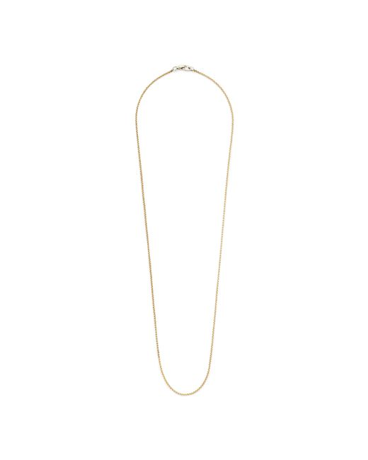 "J.Crew | Metallic James Colarusso 30"" Chain 