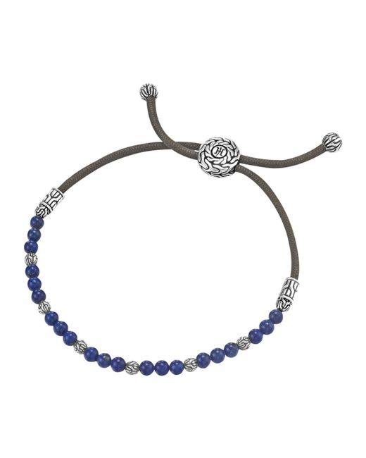 John Hardy | Black Lapis Bead Bracelet for Men | Lyst