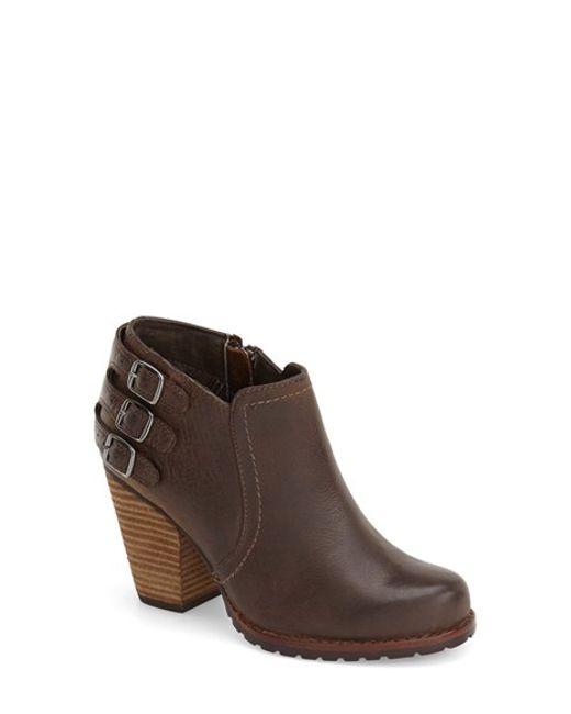 Eastland | Brown 'augustina' Belted Bootie | Lyst