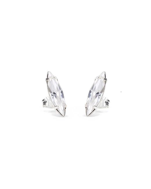 Bing Bang - Metallic Crystal Shard Studs - Lyst