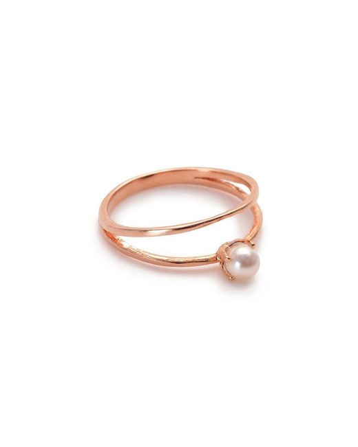 Bing Bang | Pink Pearl Illusion Ring | Lyst