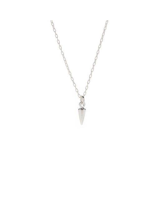 Bing Bang | Pink Tiny Bullet Necklace | Lyst