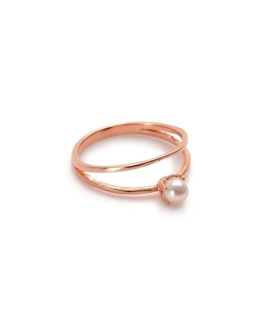 Bing Bang | Pink Pearl Illusion Ring | Lyst