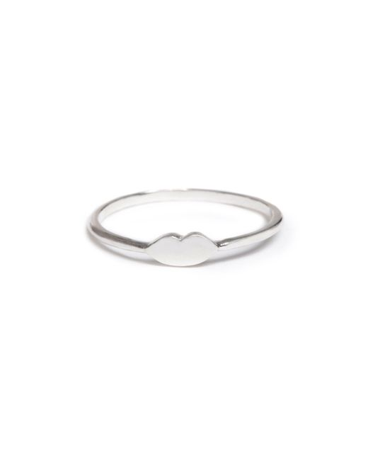 Bing Bang - Metallic Kiss Ring - Lyst