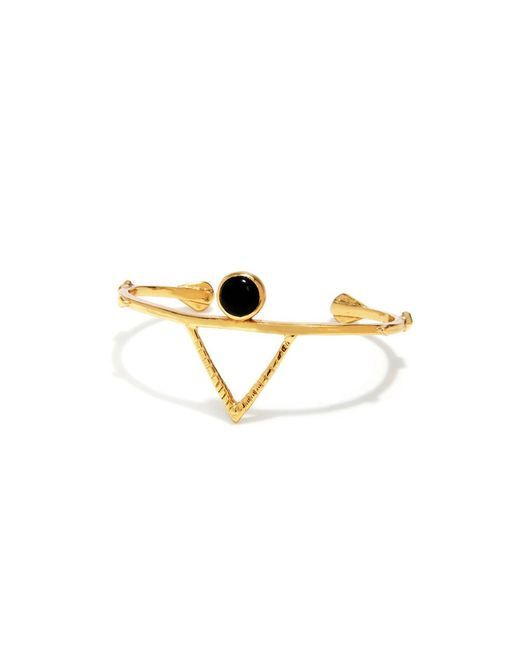 Bing Bang | Yellow Temple Amulet Cuff | Lyst