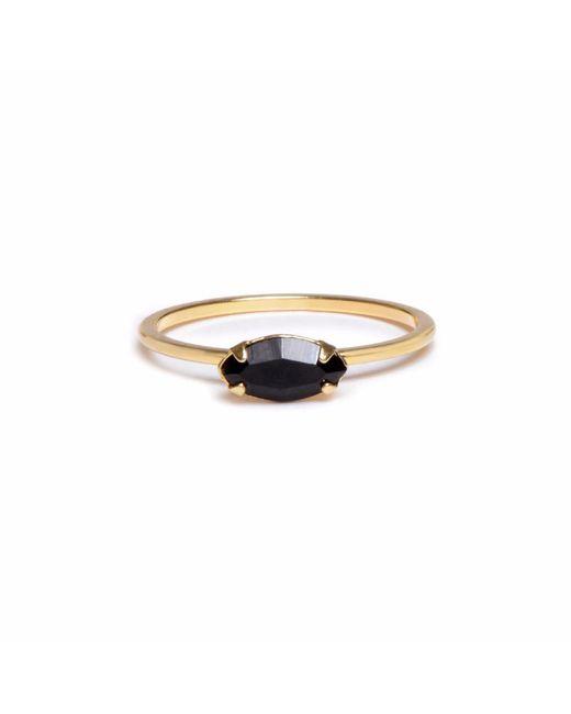 Bing Bang - Metallic East West Marquis Ring - Lyst
