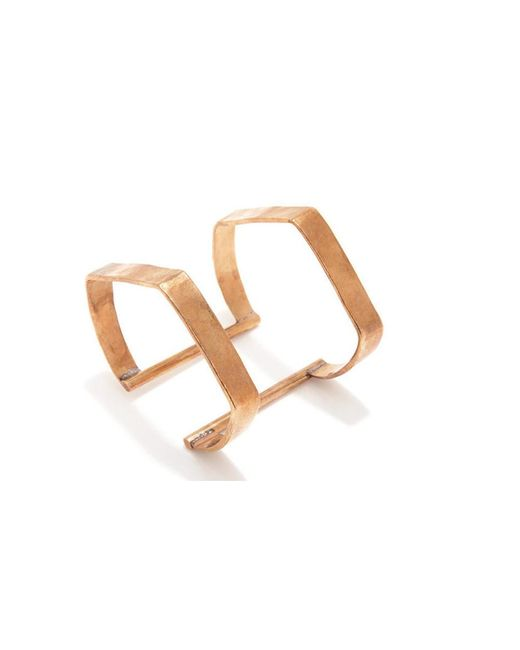 Bing Bang | Metallic Double Temple Cuff | Lyst