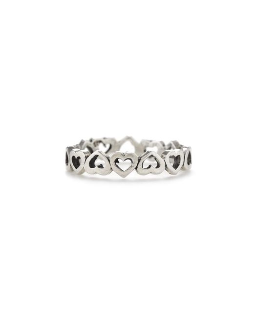 Bing Bang | Metallic Eternity Heart Ring | Lyst