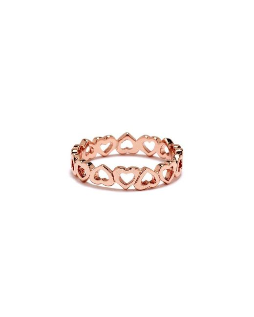 Bing Bang | Pink Eternity Heart Ring | Lyst
