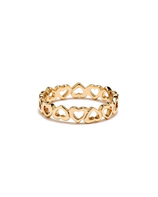 Bing Bang | Yellow Eternity Heart Ring | Lyst