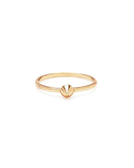Bing Bang   Metallic Tiny Vivienne Ring   Lyst