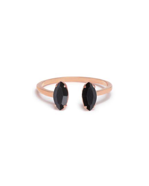Bing Bang - Metallic Double Marquis Ring - Lyst