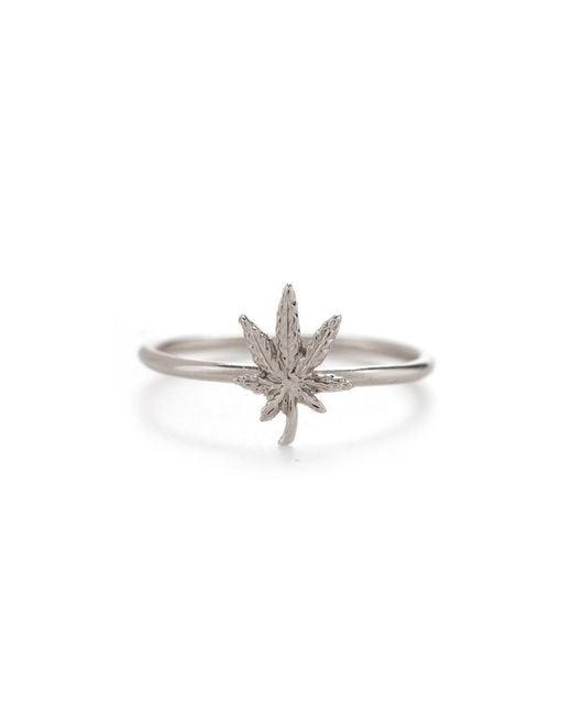Bing Bang - Metallic Mary Jane Ring - Lyst