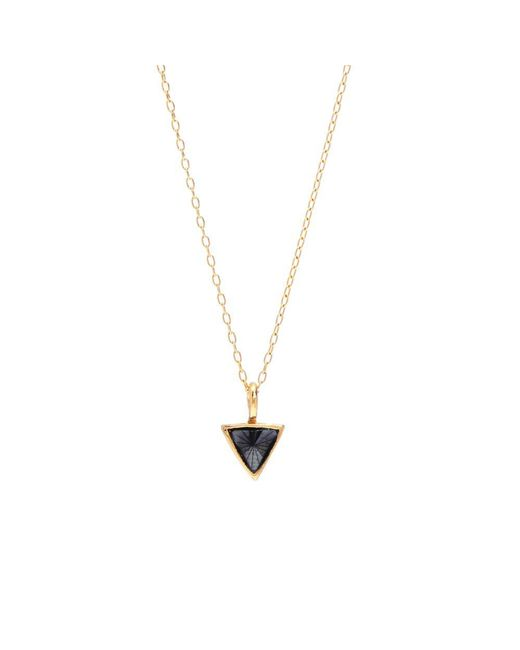 Bing Bang - Metallic Delta Bezel Necklace - Lyst