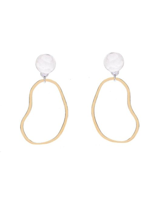 Bing Bang - Metallic Aalto Dew Drop Earrings - Lyst