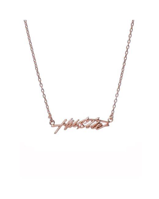 Bing Bang - Pink Hustle Necklace - Lyst