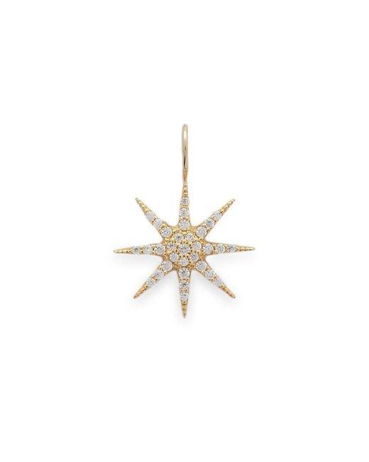 Talia Naomi | Metallic Mini Supernova Pendant | Lyst