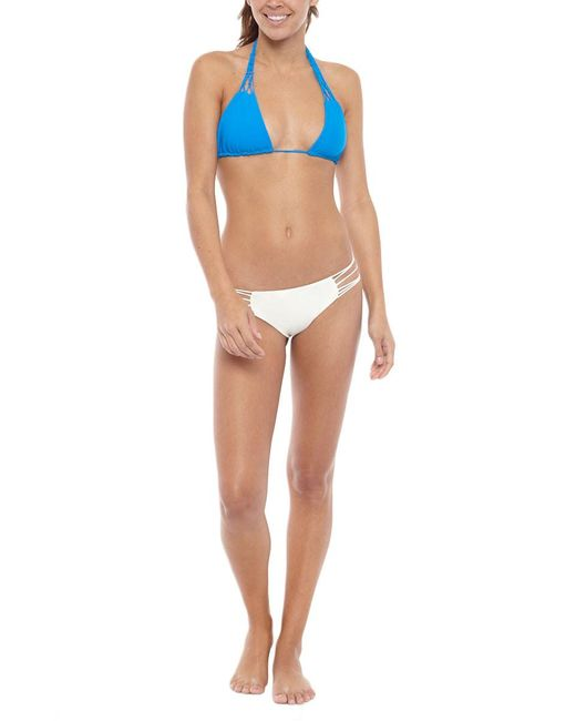 Mikoh Swimwear | Blue Coconuts Top | Lyst
