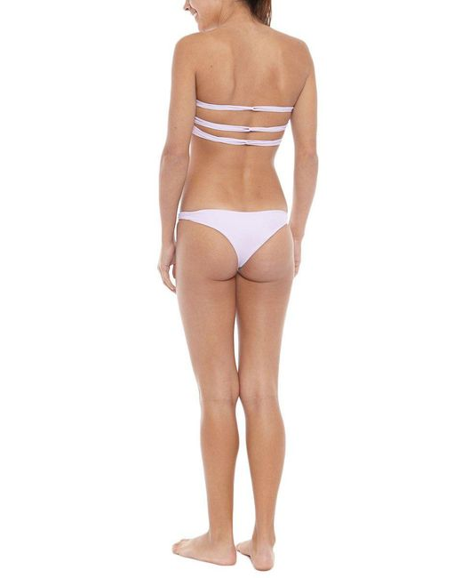 Mikoh Swimwear | Pink Lahaina Bottom | Lyst
