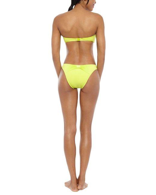 Seafolly | Yellow Goddess Bow Back Bottom | Lyst