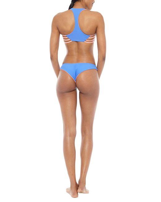 Water Glamour | Blue Skinny Jessie Cheeky Bottom | Lyst