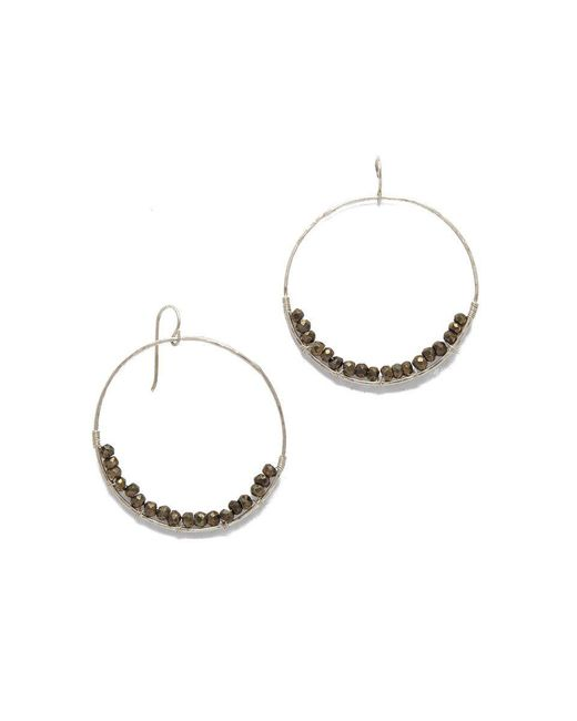 SIMONE JEANETTE - Metallic Adrianna Earrings - Lyst