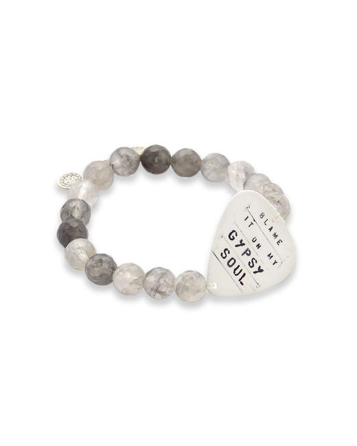 Electric Picks | Gray Gypsy Soul Bracelet | Lyst