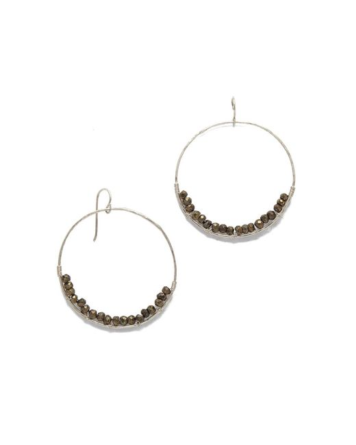 SIMONE JEANETTE | Metallic Adrianna Earrings | Lyst