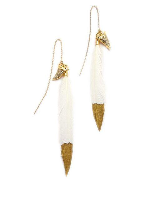 BLAINE BOWEN - Metallic Jaws Earrings - Lyst