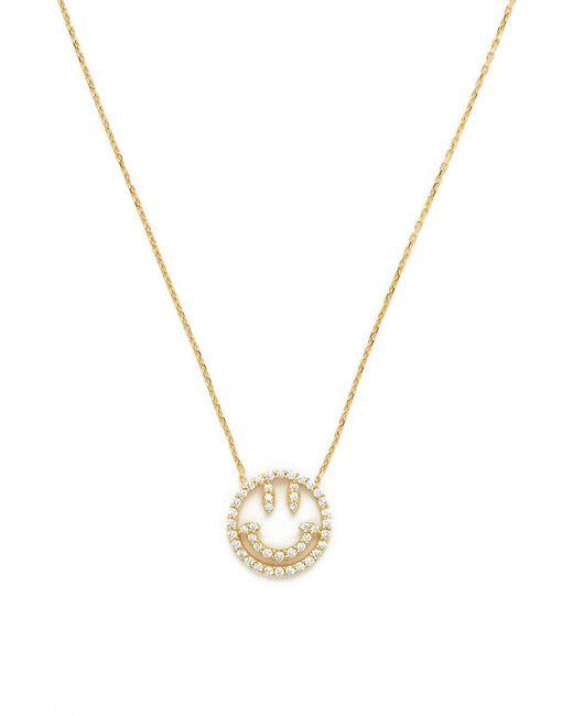 Talia Naomi - Metallic Why So Serious Necklace - Lyst