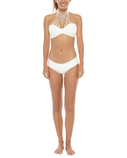 Mikoh Swimwear | Natural Kahala Top | Lyst