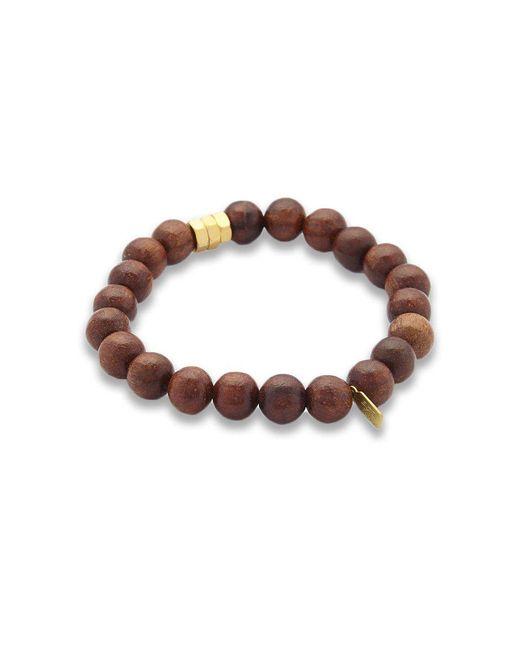 Electric Picks | Brown Flap Men's Bracelet for Men | Lyst