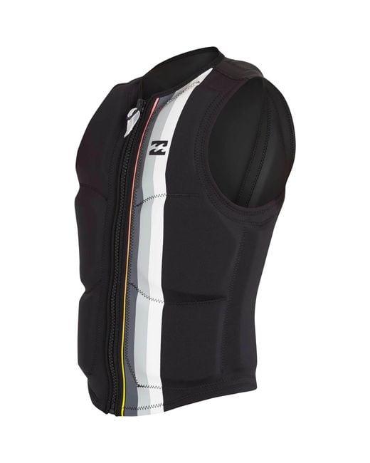 Billabong - Black Dbah Wake Vest for Men - Lyst