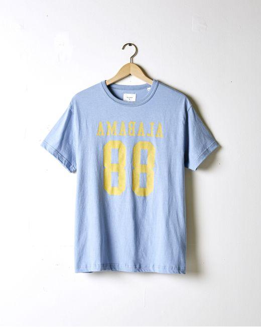 Billy Reid   Blue Ala 88 Tshirt for Men   Lyst