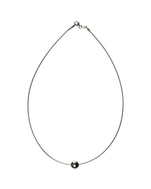 Black.co.uk - Portia Single Tahitian Black Pearl Necklace - Lyst