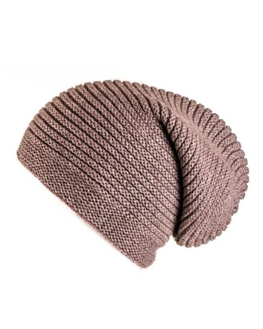 Black.co.uk - Multicolor Tawny Brown Cashmere Slouch Beanie Hat - Lyst
