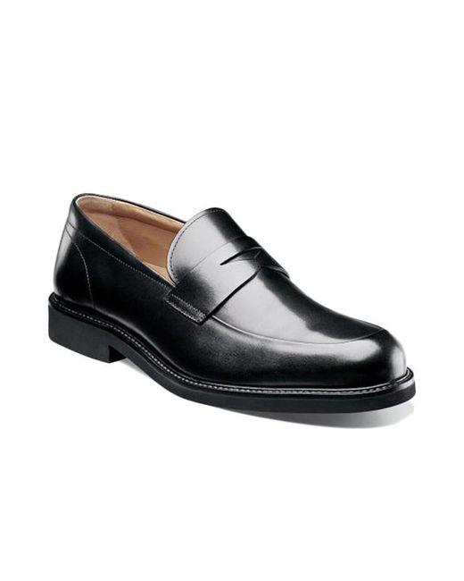 714794481ab ... Florsheim - Black Gallo Moc Toe Penny Loafer for Men - Lyst ...