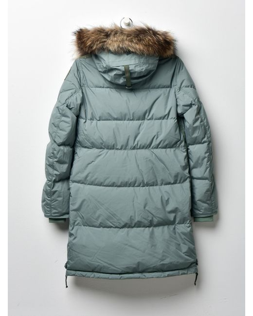... Parajumpers - Women Long Bear Light 716 Hedge Green - Lyst ...