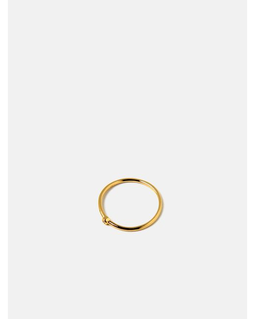 we11made | Metallic Go Simple Stone Ring | Lyst