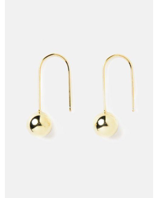 we11made - Metallic Falling Ball Earrings - Lyst