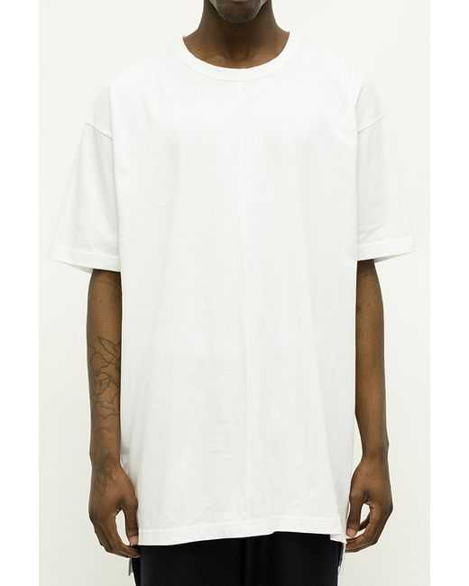 Blood Brother Captain Oversized T Shirt In White In White