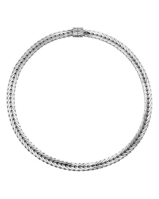 John Hardy - Metallic Modern Chain Collar Necklace - Lyst