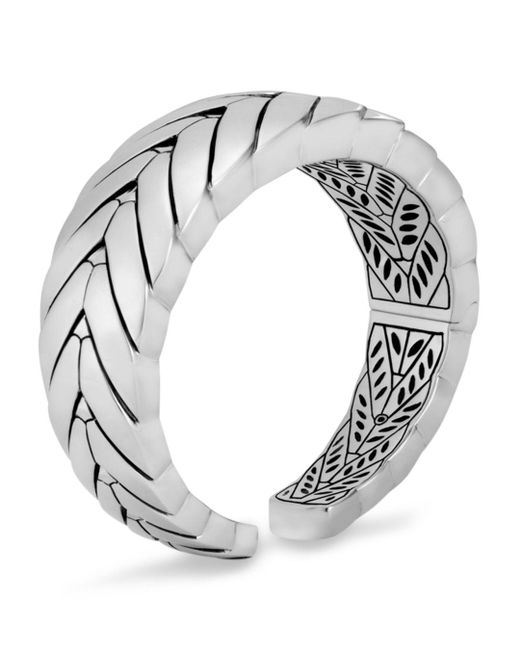 John Hardy - Metallic Sterling Silver Modern Chain Kick Cuff - Lyst