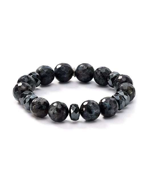 Bourbon and Boweties - Gray Stretch Bracelet - Lyst