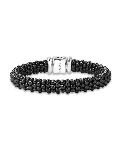 Lagos | Black Caviar Ceramic Bracelet | Lyst