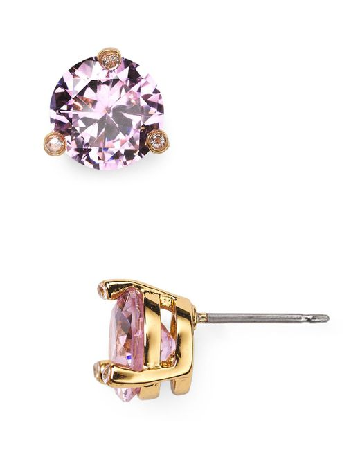 Kate Spade - Pink Rise And Shine Stud Earrings - Lyst