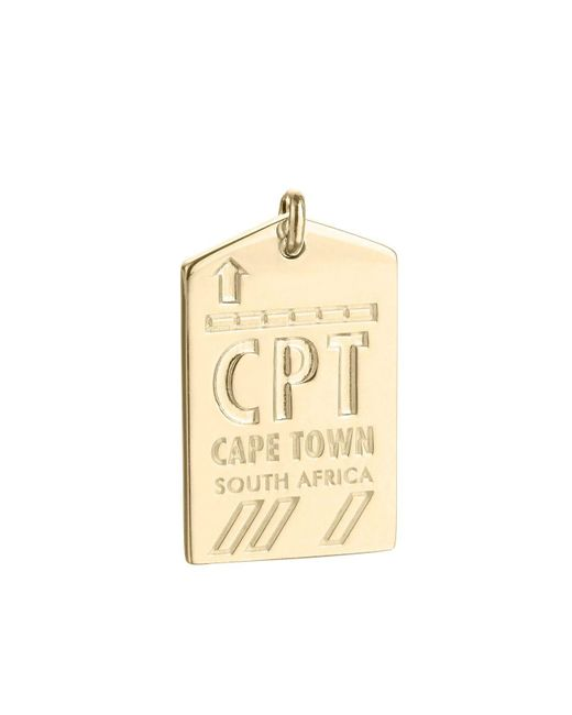 Jet Set Candy | Metallic Cpt Cape Town South Africa Luggage Tag Charm | Lyst