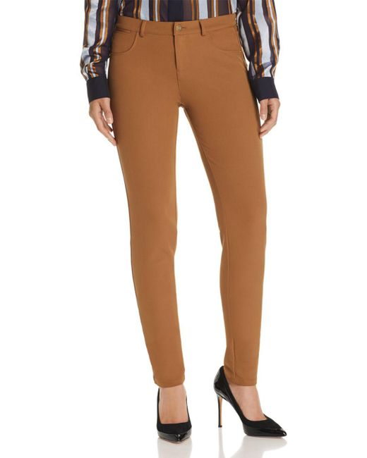 Lafayette 148 New York - Brown Acclaimed Stretch Mercer Pants - Lyst