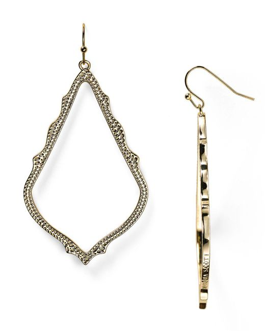 Kendra Scott - Metallic Sophee Drop Earrings - Lyst