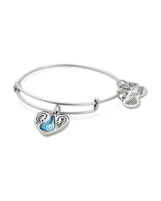 ALEX AND ANI | Metallic Water Expandable Wire Bangle | Lyst
